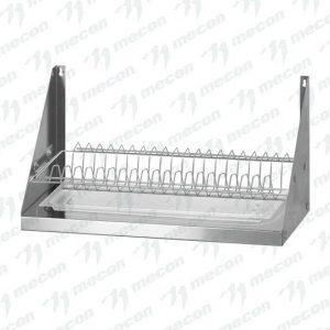"""Полка для сушки посуды ПСПн – 600*300*300 """"Norma Inox"""", нерж. сталь, сетка """"тарелки"""""""