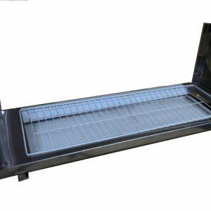 Полка настенная кухонная для сушки посуды ПНП-900с с поддоном